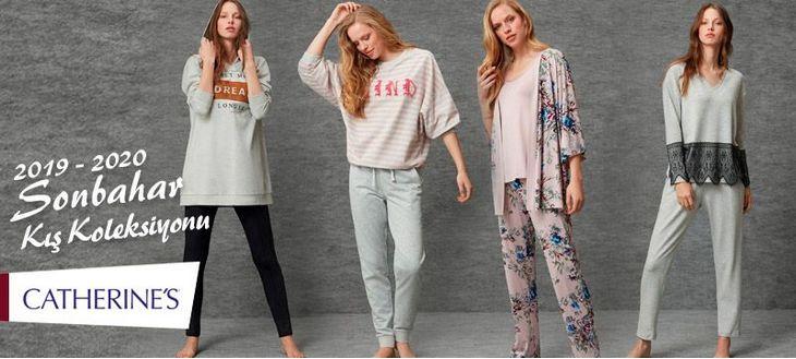 Catherine's 2019-2020 Sonbahar Kış Ev Giyimi Pijama Koleksyionu