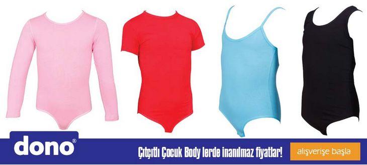 Dono Çocuk İç Giyimi Çıtçıtlı Body