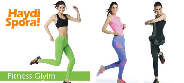 Spor Zamanı - Fitness Giyim!