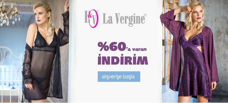 La Vergine 2018 İkili Gecelik Sabahlık Takımları