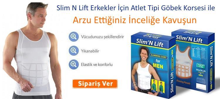 Slim N Lift Atlet Tipi Erkek Göbek Korsesi Baklava Tipi
