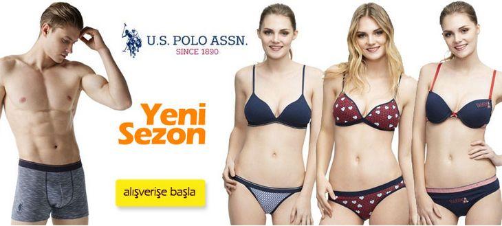 US Polo Assn Yeni Sezon Bay Bayan İç Giyim Koleksiyonu