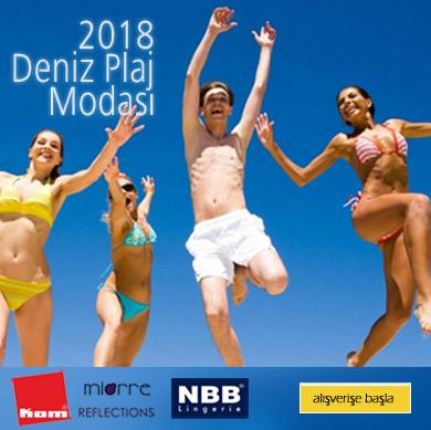 2018 Deniz Plaj Modası - Mayo Bikini Şort Pareo Taytkini