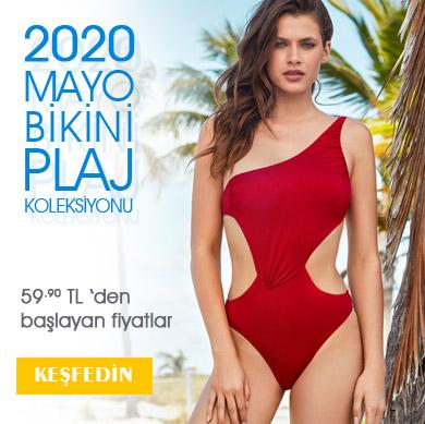 2020 Yeni Sezon Mayo Bikini 59.90 TL den başlayan fiyatlar