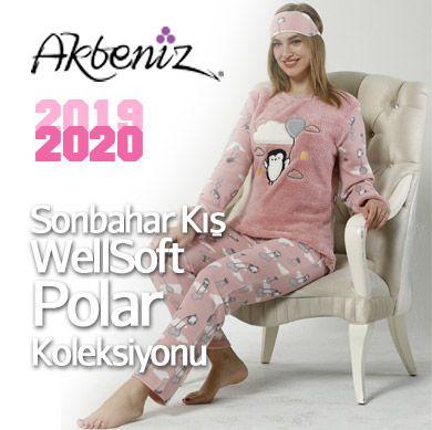 Akbeniz Wellsoft Polar Pijama Takımları