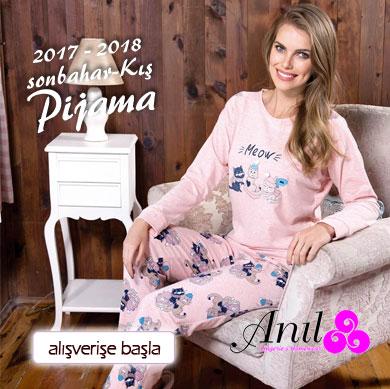 Anıl 2017-2018 Sonbahar Kış Pijama Koleksiyonu