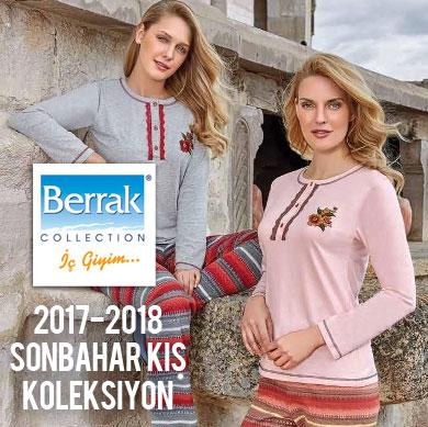 Berrak 2017-2018 Sonbahar Kış Pijama Koleksiyonu