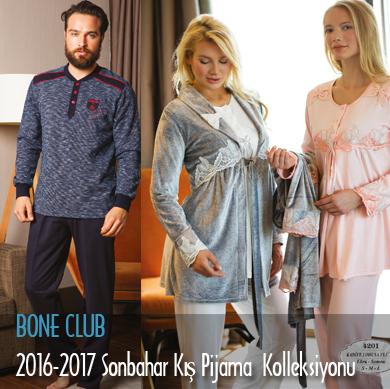 Bone Club 2016-2017 Sonbahar Kış Pijama Kolleksiyonu