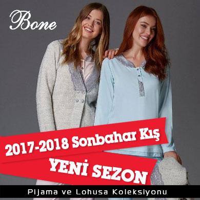 Bone Club 2017-2018 Sonbahar Kış Pijama ve Lohusa Koleksiyonu