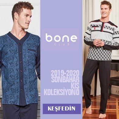 Bone Club 2019-2020 Sonbahar Kış Erkek Pijama Koleksiyonu