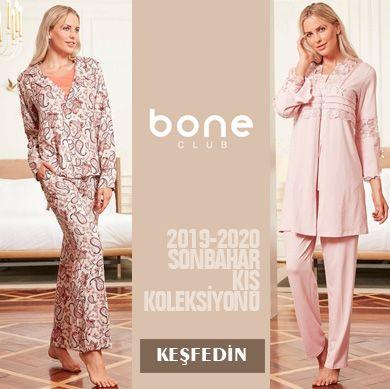 Bone Club 2019-2020 Sonbahar Kış Pijama Koleksiyonu