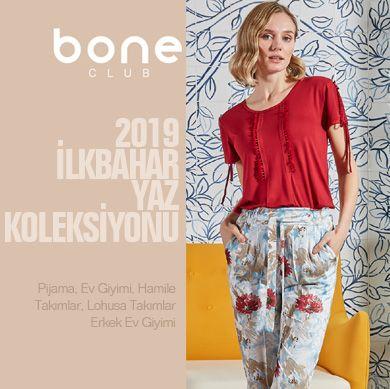 Bone Club 2019 ilkbahar Yaz Kadın Erkek Koleksiyonu