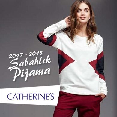 Catherine's 2017 - 2018 Sonbahar Kış Bayan Sabahlık ve Pijama Koleksiyonu