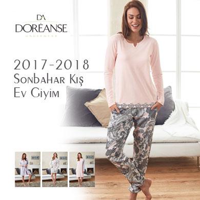 Doreanse 2017-2018 Sonbahar Kış Ev Giyim