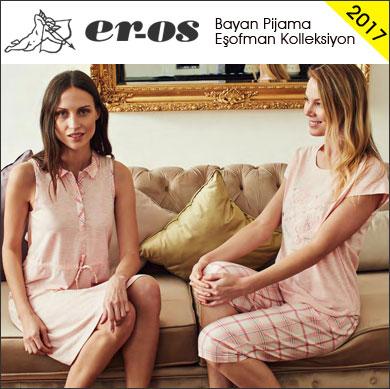 Eros 2017 İlkbahar Yaz Bayan Pijama Eşofman Koleksiyonu