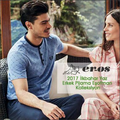 Eros 2017 Erkek İlkbahar Yaz Pijama Eşofman Koleksiyonu