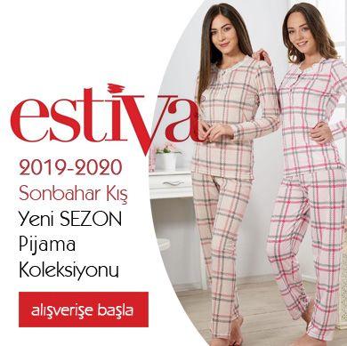 Estiva 2019-2020 Sonbahar Kış Pijama Koleksiyonu