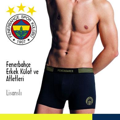 Fenerbahçe Erkek Külot ve Atletleri Lisanslı