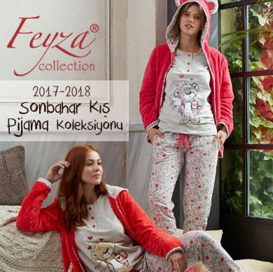 Feyza 2017-2018 Sonbahar Kış Pijama Koleksiyonu