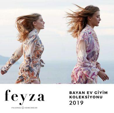 Feyza 2019 İlkbahar Yaz Pijama-Ev Giyim Koleksiyonu
