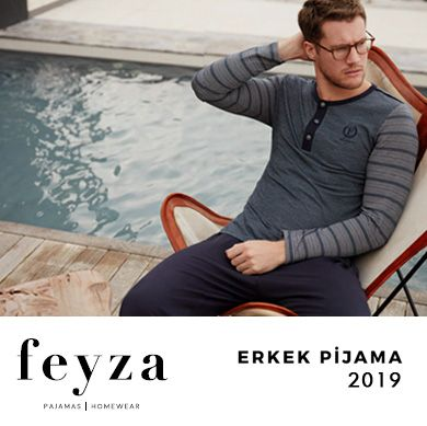 Feyza 2019 İlkbahar Yaz Erkek Pijama Koleksiyonu