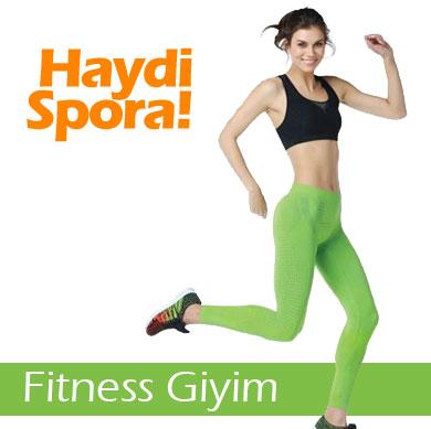 Fitness Giyim - Spor Zamanı!