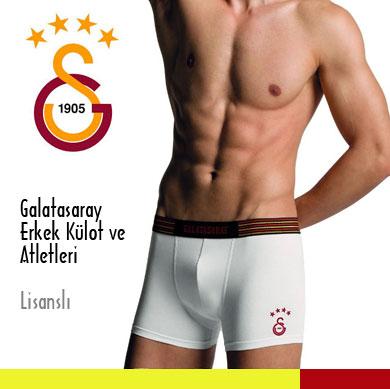 Galatasaray Erkek Külot ve Atletleri Lisanslı