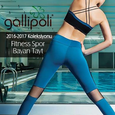 Gallipoli 2016/17 Fitness Spor Bayan Tayt Koleksiyonu