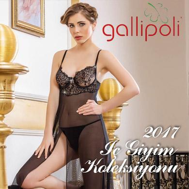Gallipoli Bayan 2017 Bayan İç Giyim Koleksiyonu