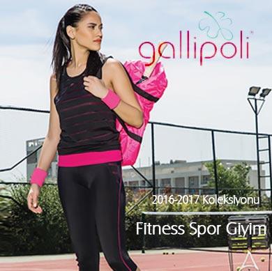Gallipoli Bayan Fitness Spor Giyim 2016/17 Koleksiyonu