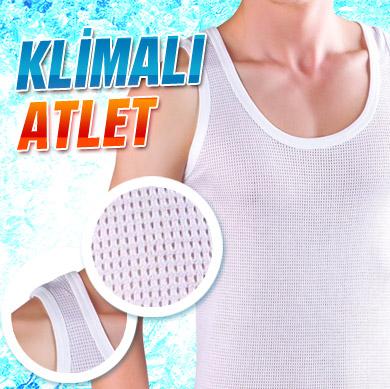 Klimalı File Atlet Espial Erkek - YENİ ÜRÜN
