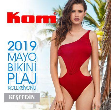 KOM 2019 Yaz Kadın Mayo Bikini Koleksiyonu Yeni Sezon!