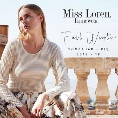Miss Loren 2018 2019 Sonbahar Kış Koleksiyonu