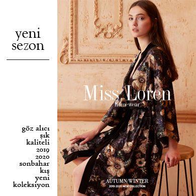 Miss Loren 2019-2020 Sonbahar Kış Homewear Koleksiyonu