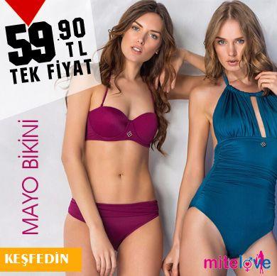 Mite Love 2019 Mayo Bikini Plaj Koleksiyonu