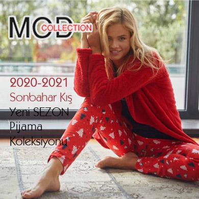 Mod Collection 2020-2021 Sonbahar Kış Pijama Takımları