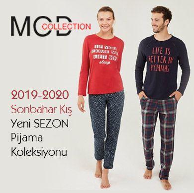 Mod Collection 2019-2020 Sonbahar Kış Pijama Koleksiyonu