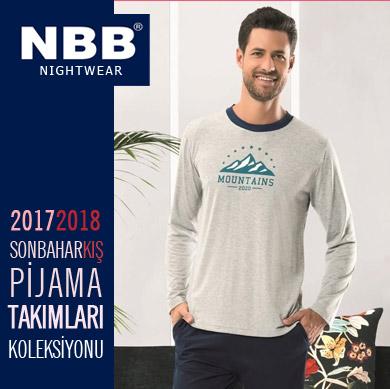 NBB 2017-2018 Sonbahar Kış Erkek Pijama Takımları