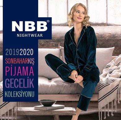 NBB 219-2020 Yeni Sezon Pijama Ev Giyim Koleksiyonu