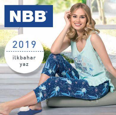 NBB 2019 İlkbahar Yaz Kadın Pijama Koleksiyonu