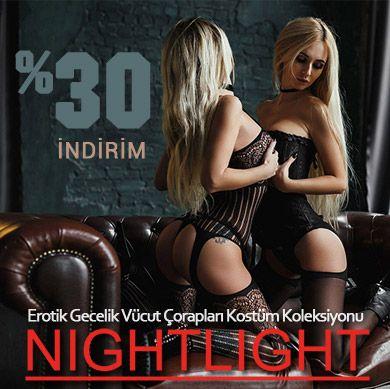 Çekici Şık Kışkırtıcı NightLight Koleksiyonu!