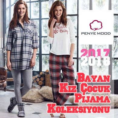PenyeMood 2017-2018 Sonbahar Kış Bayan Kız Çocuk Pijama Koleksiyonu