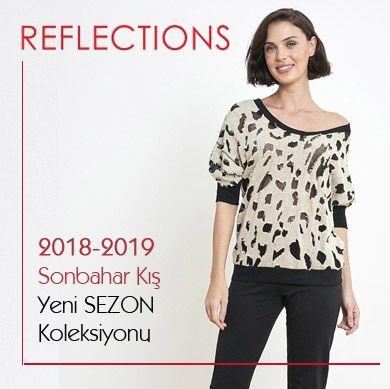 Reflection 2018-2019 Sonbahar Kış Bayan Pijama Gecelik Sabahlık Eşofman Koleksiyonu