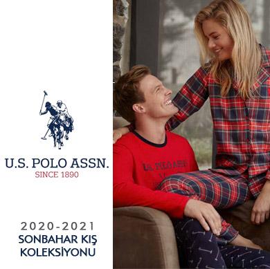 U.S. Polo Assn. 2020-2021 Sonbahar Kış Pijama Takımları