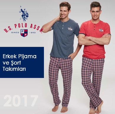 US POLO Erkek Pijama ve Şort Takımları 2017