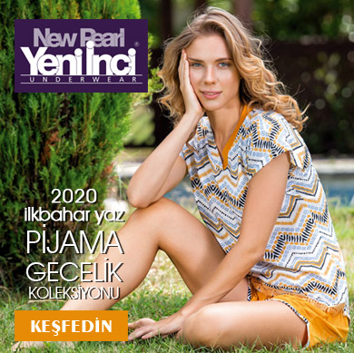 Yeni İnci 2020 İlkbahar Yaz Yeni Sezon Pijama Çeşitleri