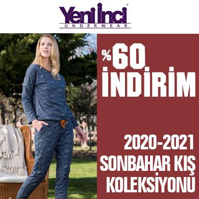 Yeni İnci 2020-2021 Sonbahar Kış Pijama Takımları