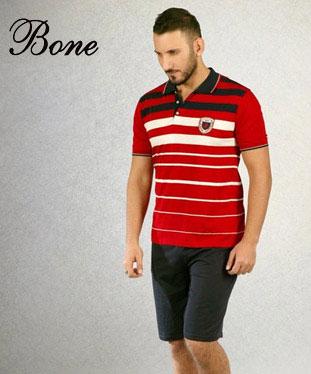 Bone Club Erkek Pijama Takımı 3463