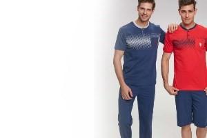 3'lü Erkek Pijama Takımlar Modelleri