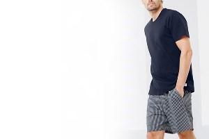 Şortlu Erkek Pijama Takım Modelleri